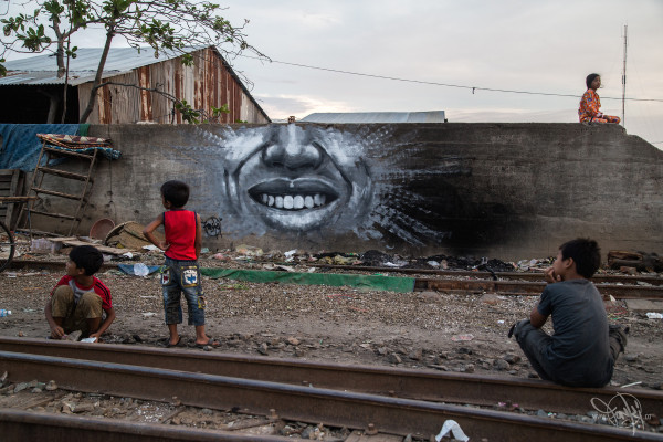 Cover pic FONKi Phnom Penh graffiti Best of